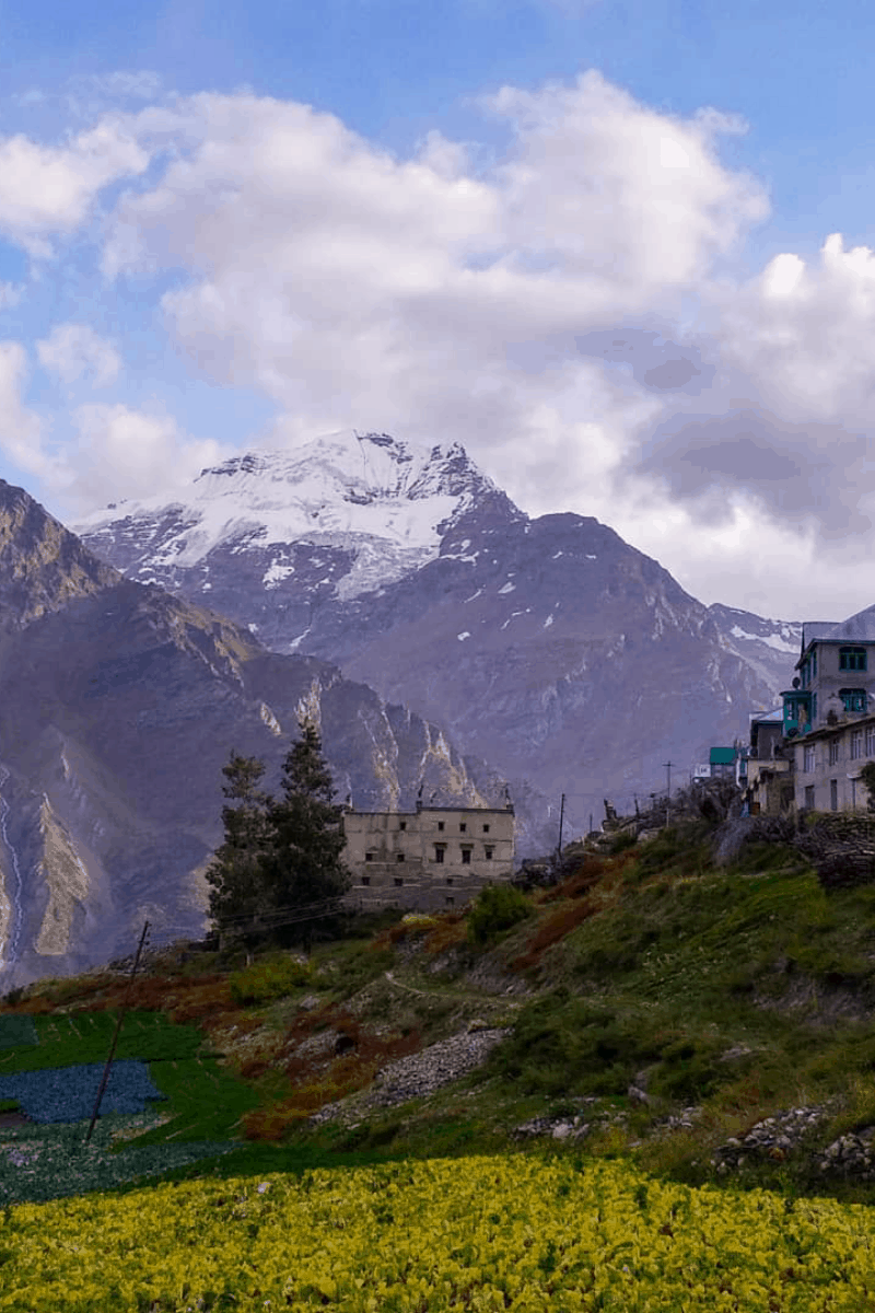 Lahaul valley villages