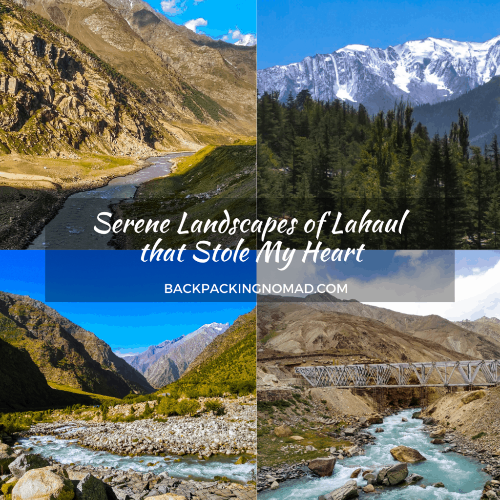 Backpacking Itinerary to Lahaul Valley
