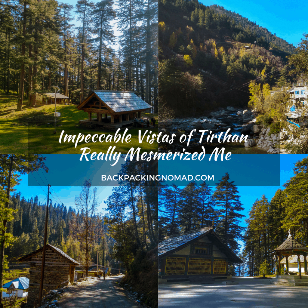 Backpacking Itinerary to Tirthan Valley