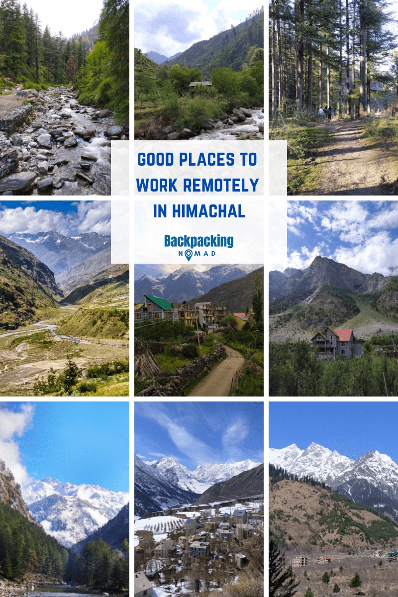 Good places to work remotely from Himachal
